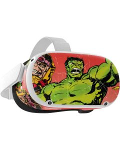 Marvel Comics Hulk Oculus Quest 2 Skin
