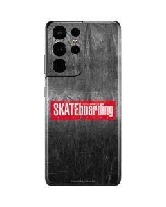 TransWorld SKATEboarding Magazine Chalkboard Galaxy S21 Ultra 5G Skin