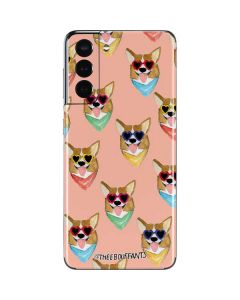 Corgi Love Galaxy S21 5G Skin
