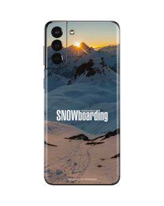 TransWorld SNOWboarding Shadows Galaxy S21 Plus 5G Skin