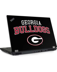 University of Georgia Bulldogs Lenovo ThinkPad Skin