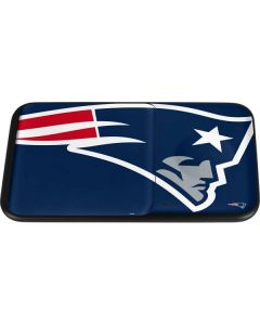 New England Patriots Large Logo Wireless Charger Duo Skin