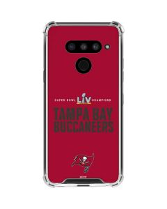 Super Bowl LV Champions Tampa Bay Buccaneers LG V50 ThinQ Clear Case