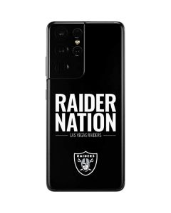 Las Vegas Raiders Team Motto Galaxy S21 Ultra 5G Skin