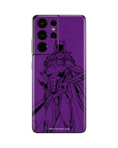 Batgirl Comic Pop Galaxy S21 Ultra 5G Skin