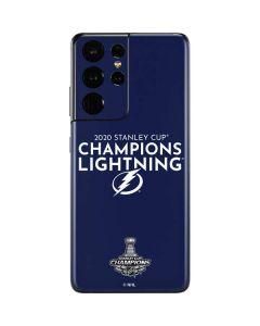 2020 Stanley Cup Champions Lightning Galaxy S21 Ultra 5G Skin