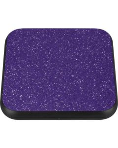 Diamond Purple Glitter Wireless Charger Single Skin