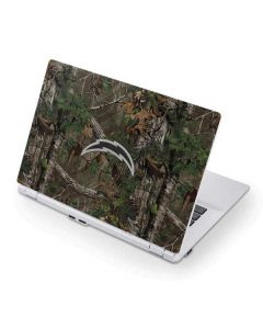 Los Angeles Chargers Realtree Xtra Green Camo Acer Chromebook Skin