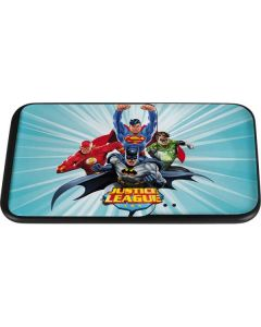 Justice League Team Power Up Blue Wireless Charger Duo Skin