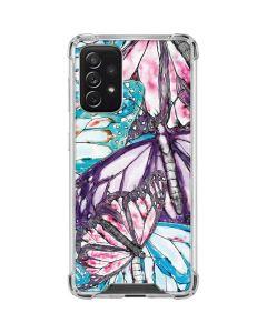 California Monarch Collage Galaxy A72 5G Clear Case