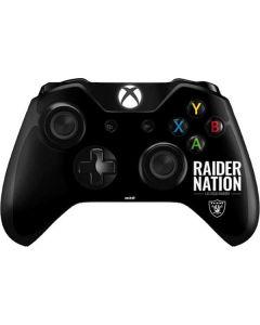 Las Vegas Raiders Team Motto Xbox One Controller Skin