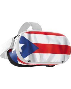 Puerto Rico Flag Oculus Quest 2 Skin
