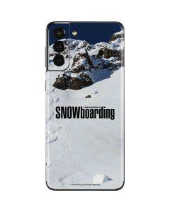 TransWorld SNOWboarding Mountain Galaxy S21 Plus 5G Skin