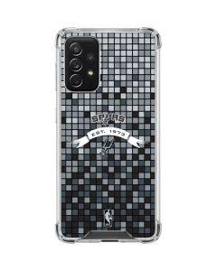 San Antonio Spurs Digi Galaxy A72 5G Clear Case