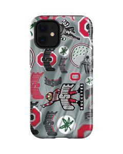 Ohio State Pattern iPhone 12 Mini Case