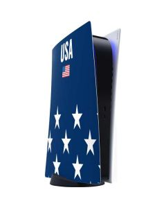 USA Flag Stars PS5 Digital Edition Console Skin