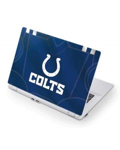 Indianapolis Colts Team Jersey Acer Chromebook Skin