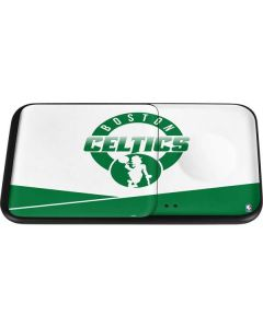 Boston Celtics Split Wireless Charger Duo Skin