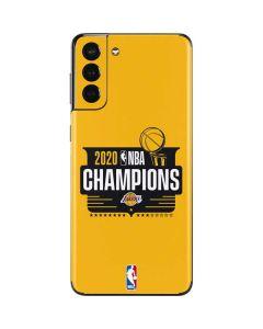 2020 NBA Champions Lakers Galaxy S21 Plus 5G Skin