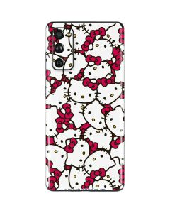 Hello Kitty Multiple Bows Pink Galaxy S20 Fan Edition Skin