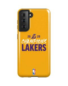 2020 Champions Lakers Galaxy S21 5G Case