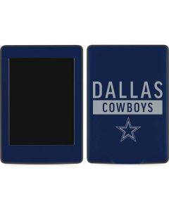 Dallas Cowboys Blue Performance Series Amazon Kindle Skin