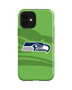 Seattle Seahawks Double Vision iPhone 12 Case