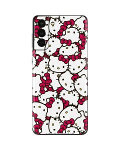 Hello Kitty Multiple Bows Pink Galaxy S21 Plus 5G Skin