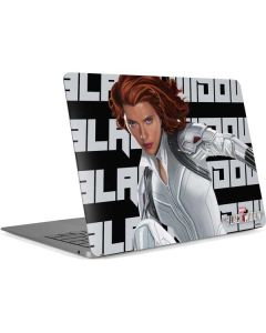 Black Widow Bold Apple MacBook Air Skin