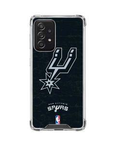 San Antonio Spurs Secondary Logo Galaxy A52 5G Clear Case