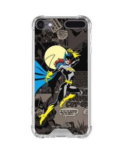 Batgirl Mixed Media iPod Touch (5th-6th-7th Gen) Clear Case
