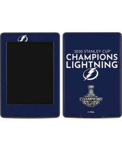 2020 Stanley Cup Champions Lightning Amazon Kindle Skin