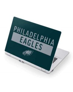 Philadelphia Eagles Green Performance Series Acer Chromebook Skin