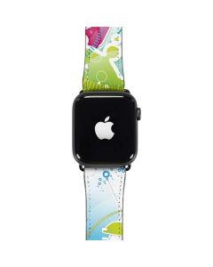 Abstraction White Apple Watch Band 42-44mm