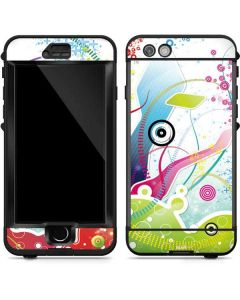 Abstraction White LifeProof Nuud iPhone Skin