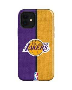 Los Angeles Lakers Canvas iPhone 12 Case