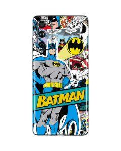 Batman Comic Book Galaxy S20 Fan Edition Skin