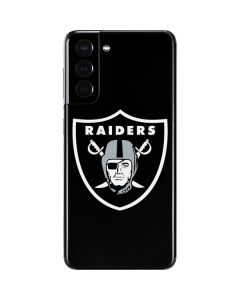 Las Vegas Raiders Large Logo Galaxy S21 5G Skin