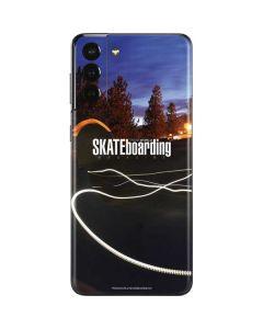 TransWorld SKATEboarding Skate Park Lights Galaxy S21 Plus 5G Skin