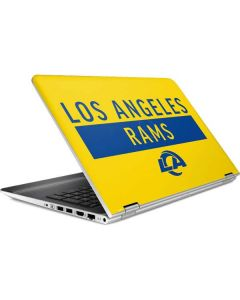Los Angeles Rams White Performance Series HP Pavilion Skin