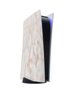 Rose Gold Marble PS5 Digital Edition Console Skin