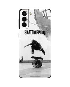 TransWorld SKATEboarding Black and White Galaxy S21 Plus 5G Skin
