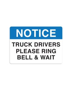 "Truck Drivers 7"" x 10"" Wall Graphic"