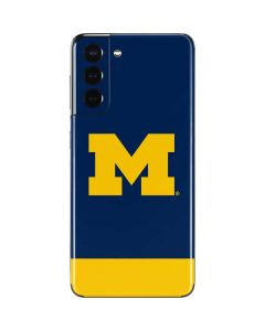 University of Michigan Logo Galaxy S21 5G Skin