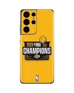 2020 NBA Champions Lakers Galaxy S21 Ultra 5G Skin