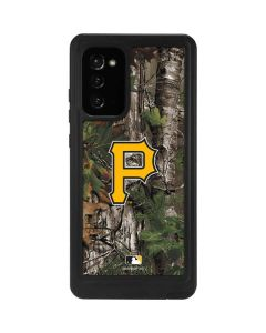 Pittsburgh Pirates Realtree Xtra Green Camo Galaxy Note20 5G Waterproof Case