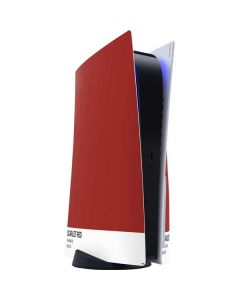 Scarlet Red PS5 Console Skin