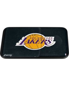 Los Angeles Lakers Black Primary Logo Wireless Charger Duo Skin