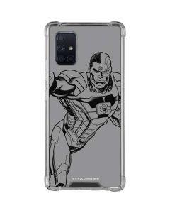 Cyborg Comic Pop Galaxy A71 5G Clear Case