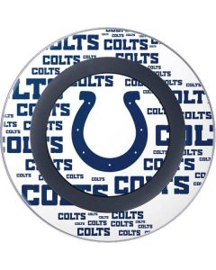 Indianapolis Colts White Blast Wireless Charger Skin
